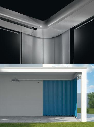 Alulux Garagentor Einbausituation Vertico