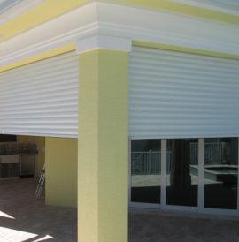 Puerta de carport y garaje Qompact®